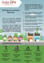 Infographie Data City - Ecole numérique