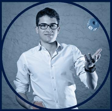 Antonin Fauret, porteur du projet Axolotech