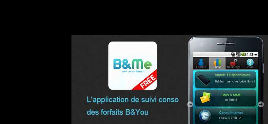 B&Me : l'application mobile made by DC