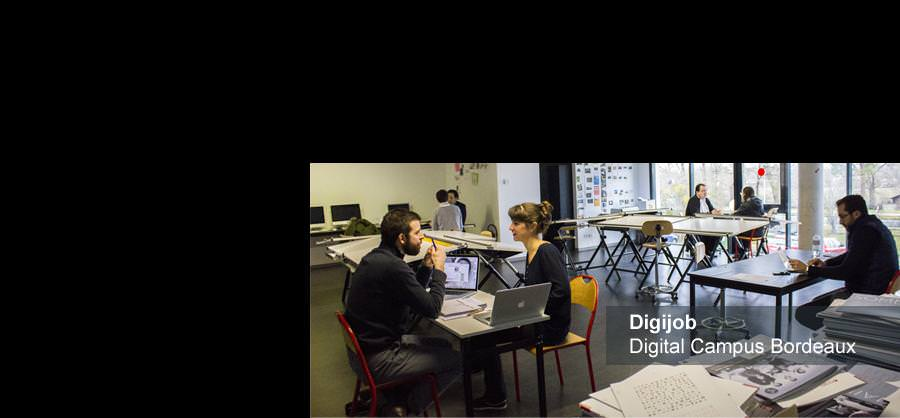 Digijob - Digital Campus Bordeaux