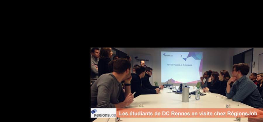 Visite chez RégionsJob - DC Rennes