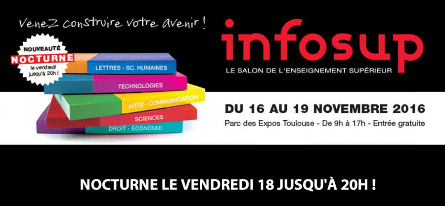 Digital Campus au Salon INFOSUP du 16 au 19/11/2016