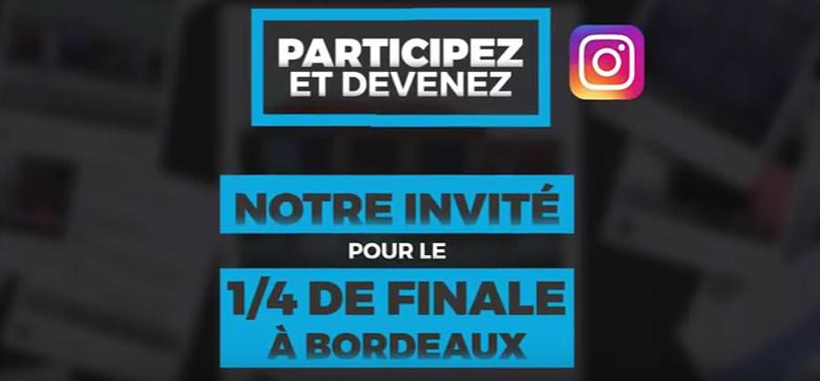 Instappen sur la FanZone de Bordeaux