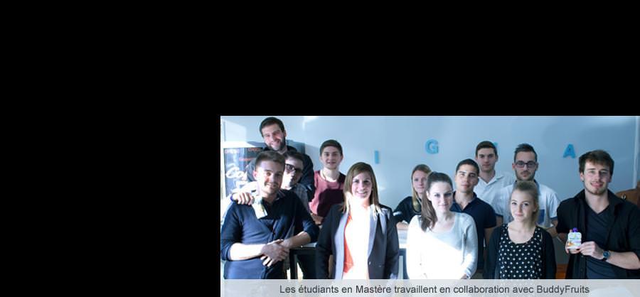 Le projet avec BuddyFruits - Rennes