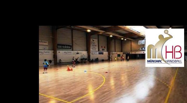 Refonte d'un site internet - Mérignac Handball