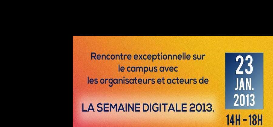 Préparatifs pour la Nuit Digitale 2013