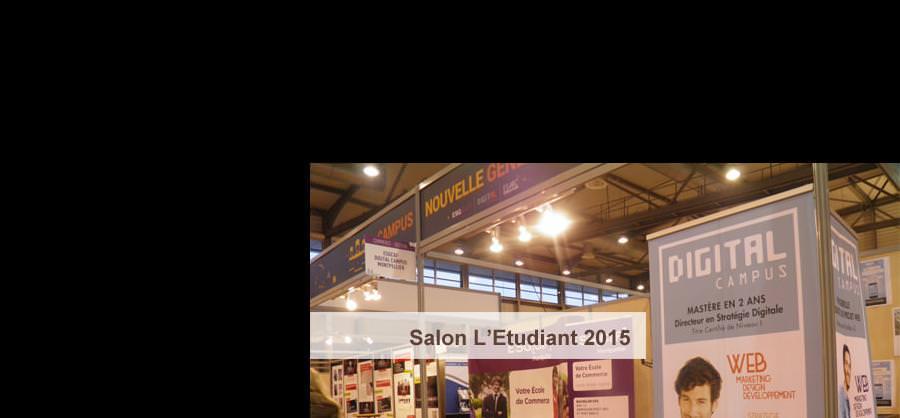 Salon L'Etudiant 2015 - DC Montpellier