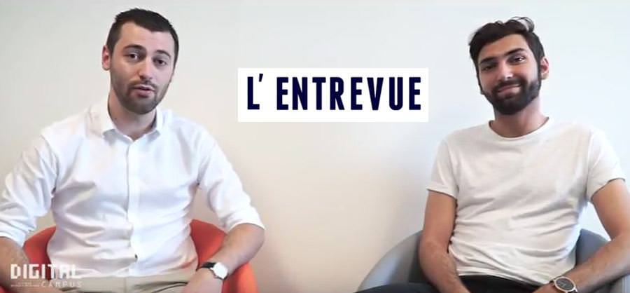 L'entrevue avec Théo Ruiz, Mastère