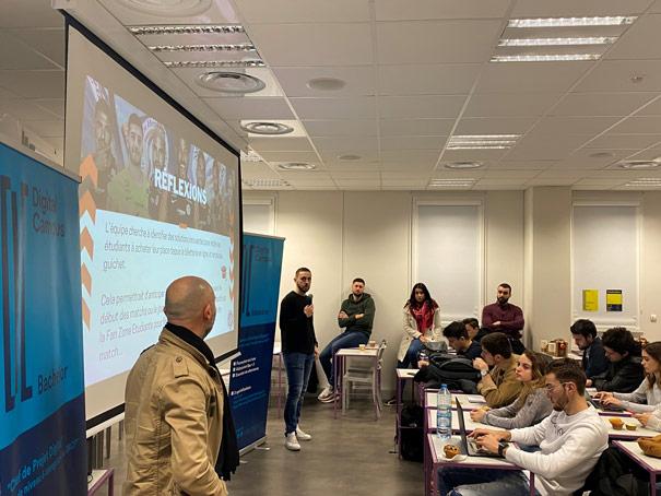 Hackathon Montpellier Sport