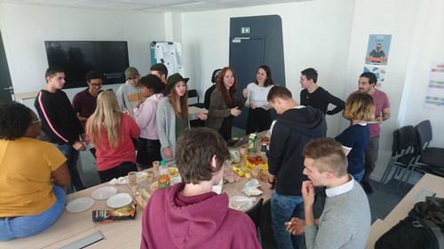 Team d'étudiants Ambassadeurs à Lyon