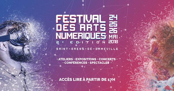 Le Festival des Arts Numériques 2018