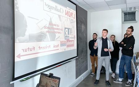 Challenge National : Deux mots pour représenter 191 étudiant.e.s créatifs !