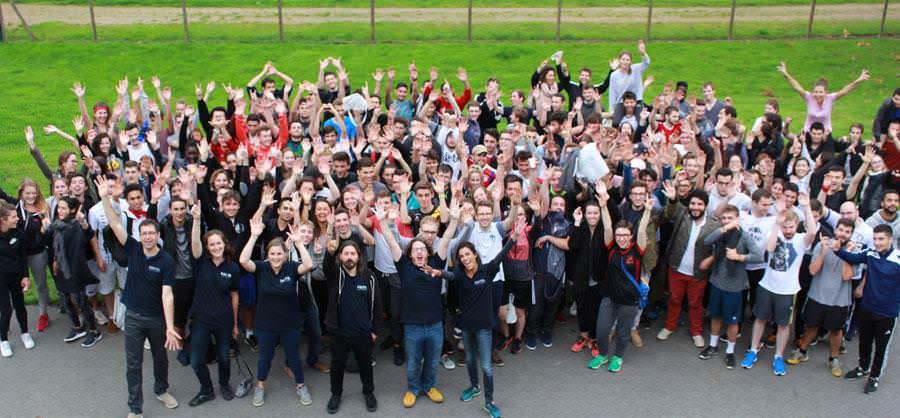 Une journée d'intégration sportive pour les étudiants de Rennes