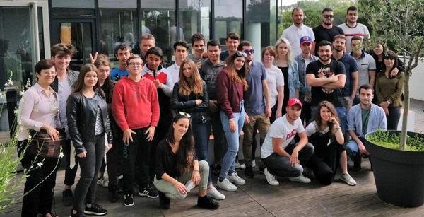 Les étudiants de Digital Campus au cœur de l'écosystème