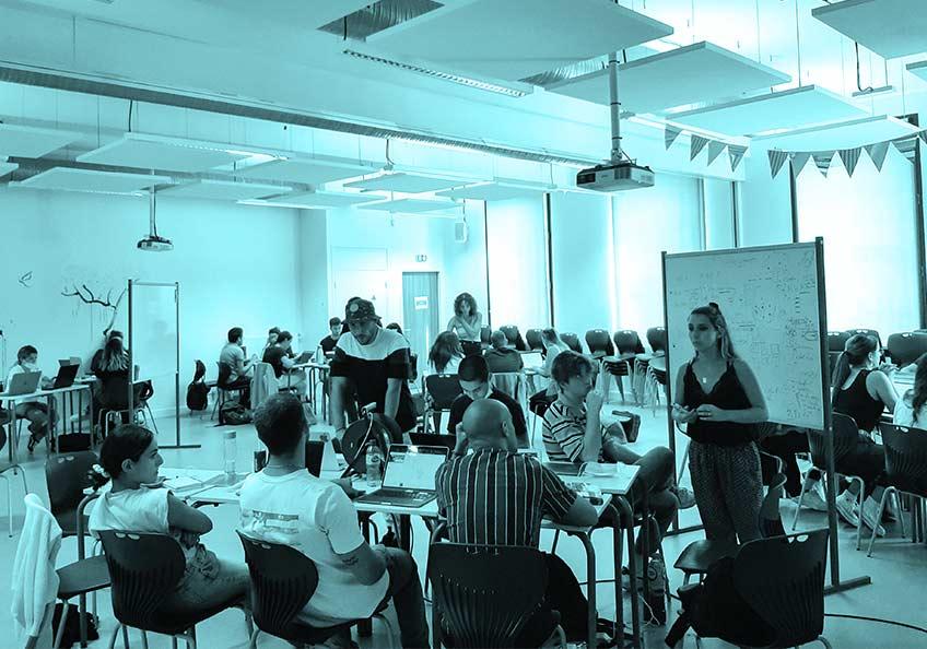 Hackathon touristique pour la rentrée de nos DC4 !