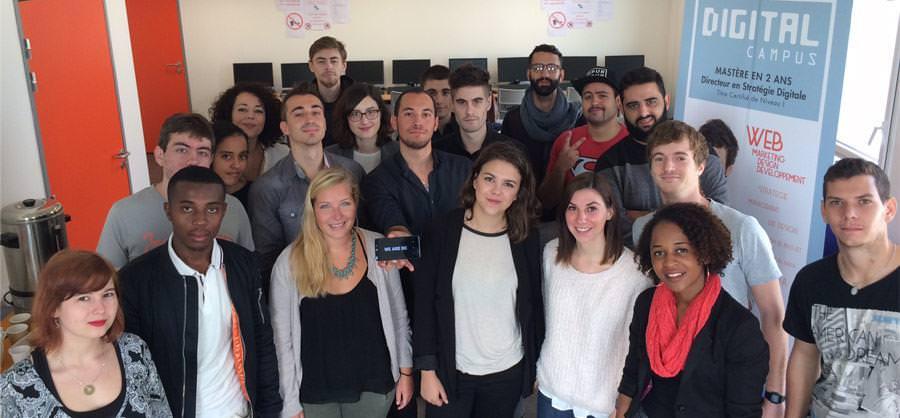 Dejeuner projet - Ecole web Montpellier