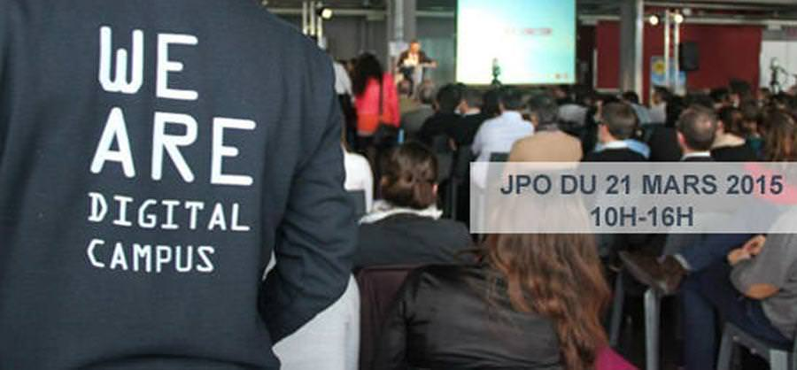 JPO du 21 Mars - Ecole web Montpellier