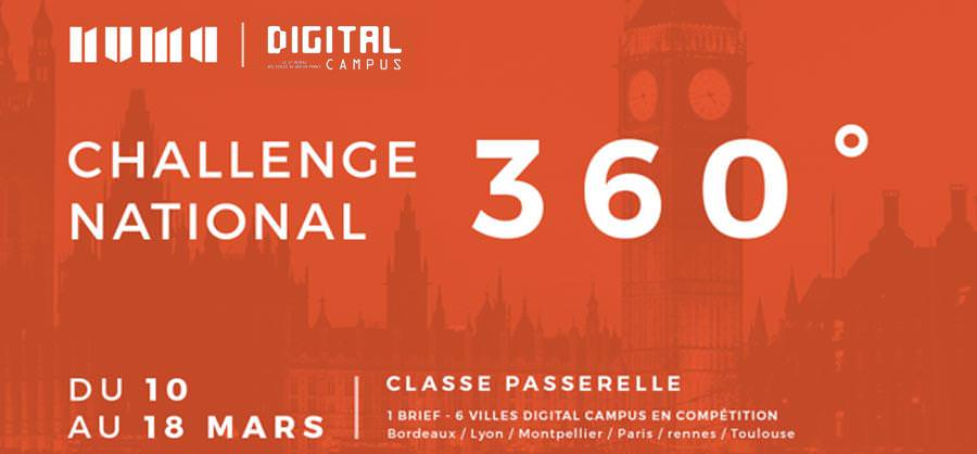 challenge 360 - ecole web Digital Campus