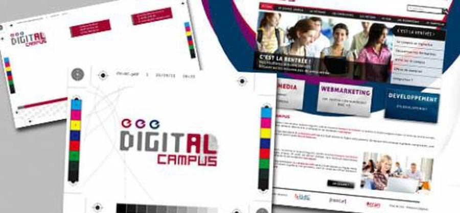 Concours graphique - Digital Campus