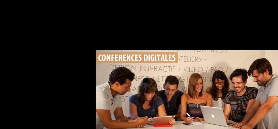 Conférence digitale - Ecole informatique Montpellier
