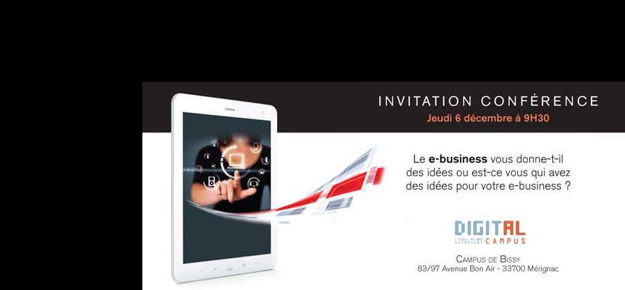 conference e-business - ecole web bordeaux