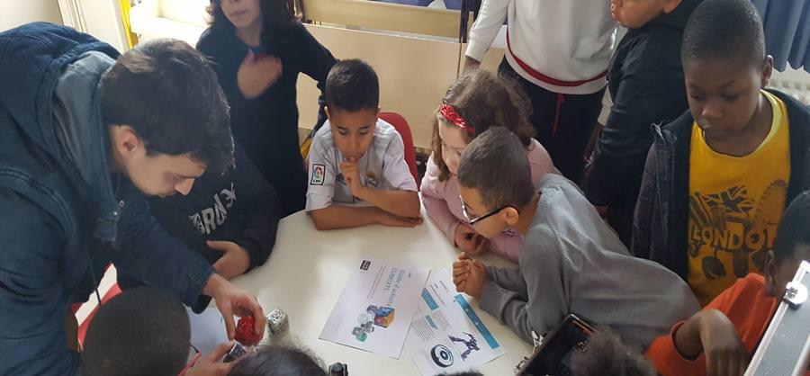 Digital Campus Lyon code à l'école primaire