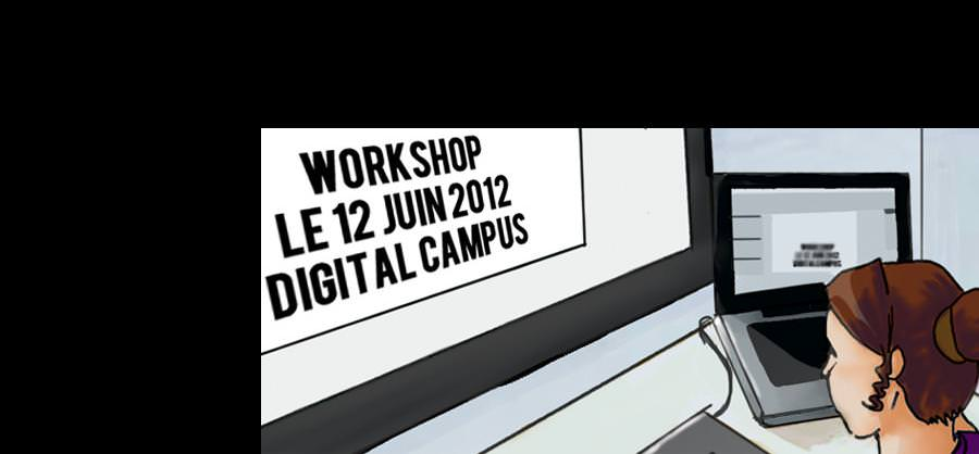 workshop - digital campus Bordeaux