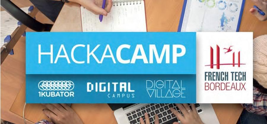 Hackacamp - Digital Campus Bordeaux