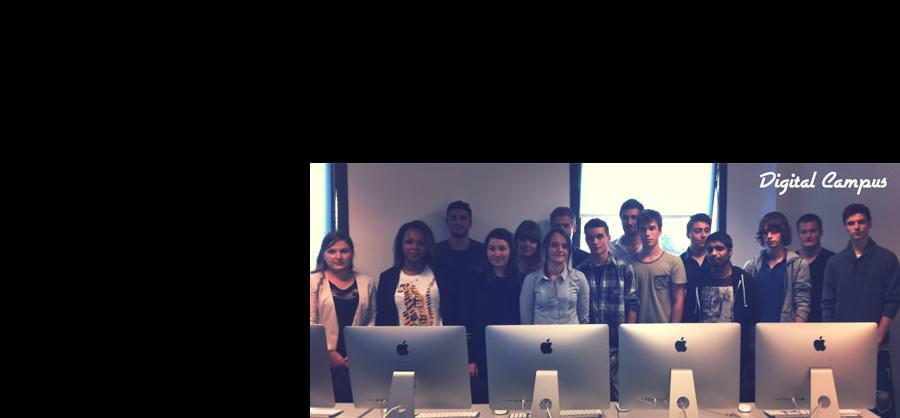 lancement Digital Campus - ecole web multimedia Rennes