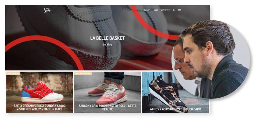 Master web - Loic La belle basket