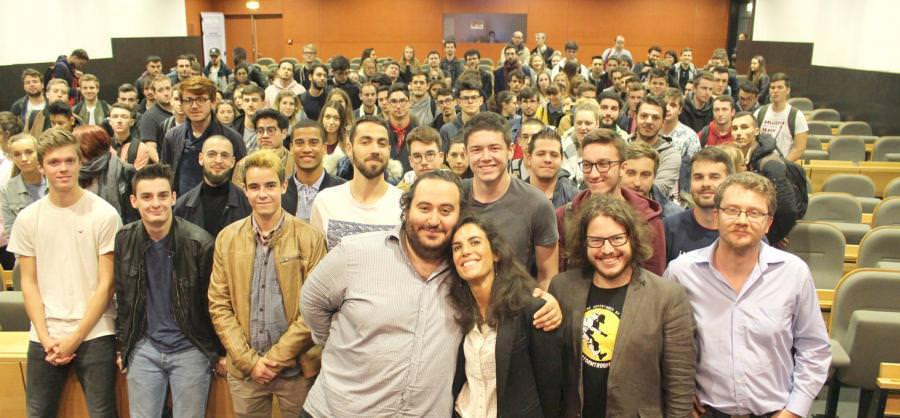 conference oussama ammar - digital campus Rennes