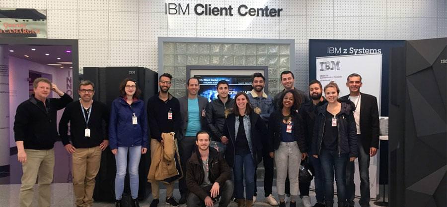 visite IBM - ecole web Montpellier