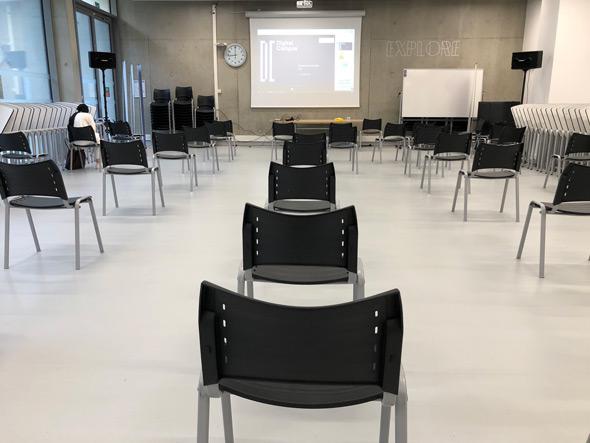 Classe gestes barrières DC Toulouse