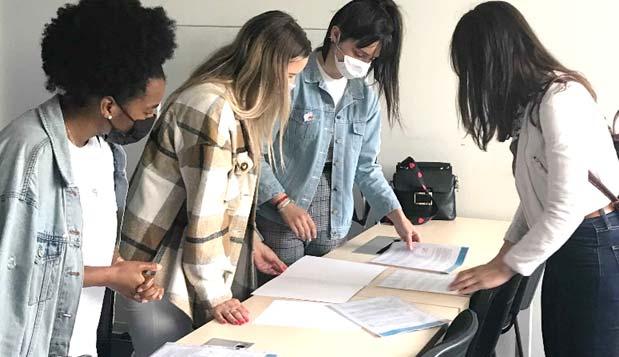 Photo étudiantes