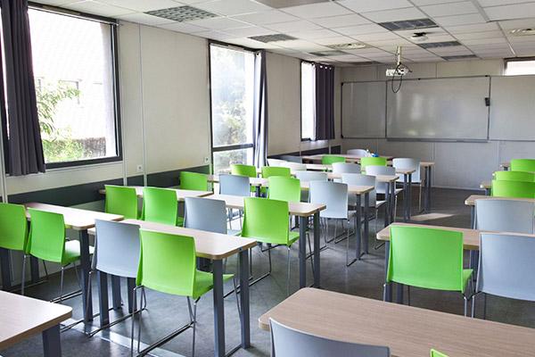 salle cours digital campus aix