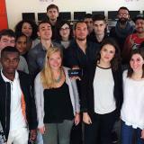 etudiants heureux digital campus montpellier
