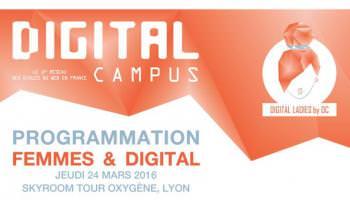 Femmes et Digital - Ecole web Lyon