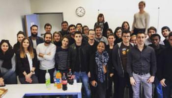 L'événement du hackathon entre étudiants de l'ESG et DC