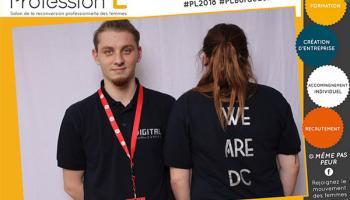 Salon Profession'L à  Bordeaux - digital campus ecole du web bordeaux