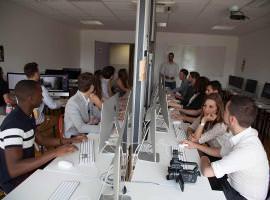 Salle cours - Ecole web Bordeaux